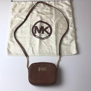 Michael Kors brown side bag